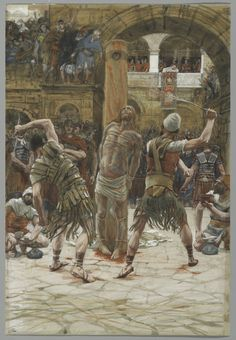 """""""The Scourging on the Front"""" by James Tissot"""