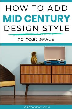 Mid Century Modern style is still going strong, even after all these years. Learn how to get the retro vintage Mad Men look in your own space, and what to look for in pieces. Mid Century Style, Mid Century Modern Design, Own Home, Your Space, Decorating Your Home, Mid-century Modern, Entryway Tables, Retro Vintage, Mad Men
