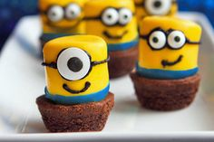 Despicable Me Minion marshmallows dipped in yellow chocolate- ParentMap