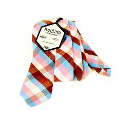 100% cotton woven handmade Slim ties. Popti  is a Mayan language mainly spoken in Huehuetenango #Korβáta #slimtie #guatemala #handmade