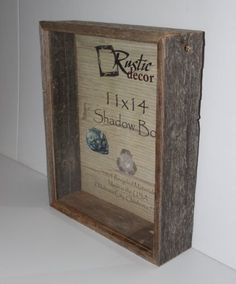 11x14 shadow box picture frames - Wooden Barnwood Frames