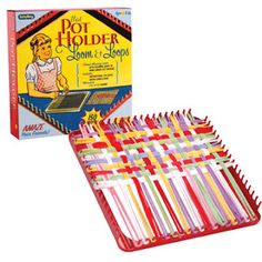 I had a pot holder maker.  Loved it!  Made many many pot holders