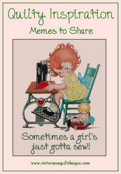 I've been meme-ing to share :) #quilting
