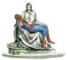 Gipi - Spider-Man Pietà