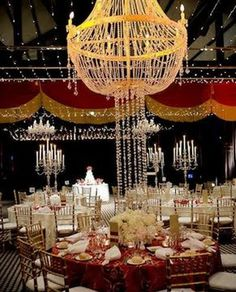Old Hollywood Glamour Wedding | Put on the Ritz with an Old Hollywood Glamour Wedding Reception