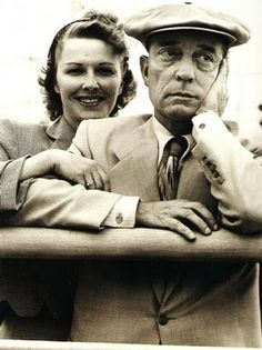 Eleanor and Buster Keaton