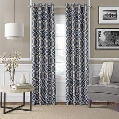 Josie Accessories Harper Blackout Grommet-Top Curtain Panel