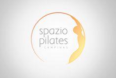 Criação de logo para academia Spazio Pilates, localizada em Campinas - SP.O projeto buscava expressar uma sensação de equilíbrio e bem-estar, características essenciais da marca.