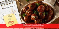 Meatball Sub Sandwiches, Meatball Pizza, Meatball Recipes, National Day Calendar, Midweek Meals, Spaghetti And Meatballs, Turkey Meatballs, Sandwich Recipes, Holiday Recipes