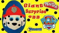 Paw Patrol Play Doh Surprise Giant Egg #pawpatrol #giantegg #surpriseeggs