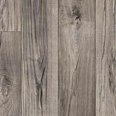 TrafficMASTER Grey Weathered Oak Plank 13.2 ft. Wide Vinyl Sheet-C6400.309K899P158 - The Home Depot