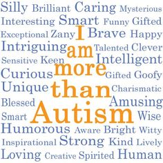 Share if you know someone with autism.  Thanks to   https://www.facebook.com/AutismAwarenessPage  and https://www.facebook.com/AspergerSyndromeAwareness