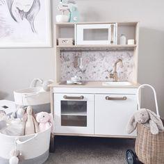 ikea toy kitchen update
