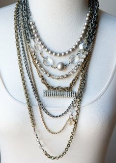 Logan Necklace. This is super cute. Pair it with a cute top and some blue jeans and dress up any outfit