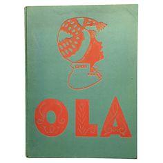 Ola, 1932 1st Ed. $89.00