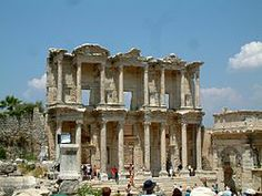 Biblioteca de Cels a Efes (arquitectura hel·lenística).