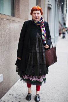 Street style from an NYC vintage show! Photos by Jacqueline Harriet.