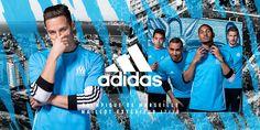 Camisas do Olympique de Marseille 2017-2018 Adidas