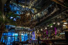 la Joben Bistro, un loc desprins din cărțile lui Jules Verne Jules Verne, Fair Grounds
