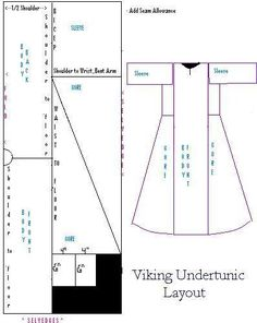 Viking underdress