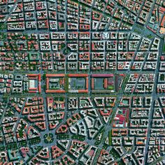 "dailyoverview: ""Prati is a neighborhood located in center of Rome Italy. The area borders the Vatican and contains theVia Cola di Rienzo one of the most famous shopping streets in the entire city. Vila Medieval, Medieval Town, City From Above, Urban Fabric, Shopping Street, City Maps, Urban Planning, Rome Italy, Urban Landscape"