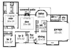 #655636 - Elegant French Design : House Plans, Floor Plans, Home Plans, Plan It at HousePlanIt.com