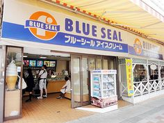 Blue Seal ice cream.