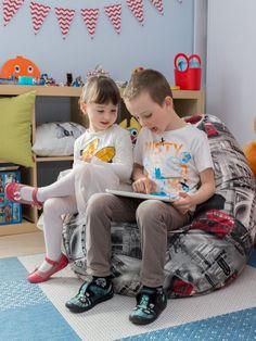 Detská izba zariadená v kolekcii Freestyle.  #sedacivak#detskaizba Freestyle, Fabric, Collection, Tejido, Tela, Cloths, Fabrics, Tejidos