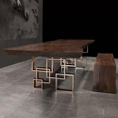 Потрясающие воображение столы от компании Hudson Furniture