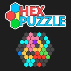 Hex Puzzle - http://www.funtime247.com/puzzles/hex-puzzle/ - Drag the pieces made of hexagons onto the board to create full rows and try to score as many points as possible!