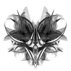 Cabeza de avispa abstracta