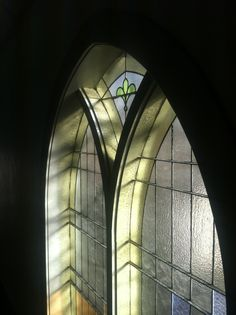 Old Church window at Eastman build