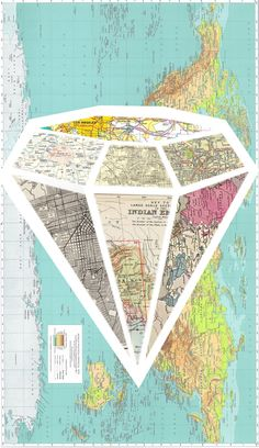 diamond map