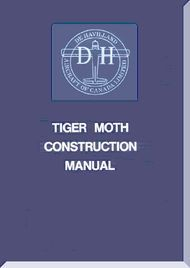 De Havilland  Tiger Moth  Aircraft Construction Manual