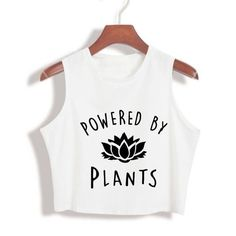 5dcb43edfe166 Powered by Plants High Neck Crop Top