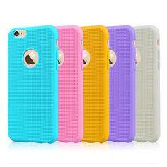 Hot Sale! Ultra Thin Super Cute Candy Case For iPhone 6S 6 Plus 6SPlus 5 5S SE…