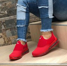 nike zapatillas rojas mujer