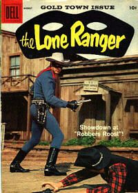 The Lone Ranger comic book
