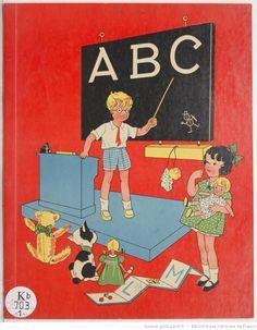 Titre :  A B C / [dessins de Gaston Maréchaux]  Auteur :  Maréchaux, Gaston. Illustrateur