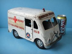 Image Detail for - VINTAGE 1950′S Tonka Fire TRUCK Rescue Squad Van | Mother Trucking ...