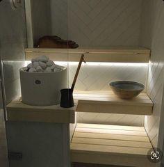 Cozy Sauna Shower Combo Decorating Ideas - Page 13 of 32 Portable Steam Sauna, Sauna Steam Room, Sauna Room, Bathroom Spa, Bathroom Interior, Mini Sauna, Scandinavian Saunas, Electric Sauna Heater, Sauna Lights