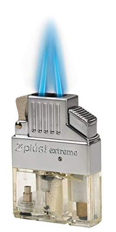 Retrofit your Zippo or other flip top style lighter. Strong double torch lighter with converging flame. Refillable clean burning butane, no more lighter fluid. Electro quartz ignition, no