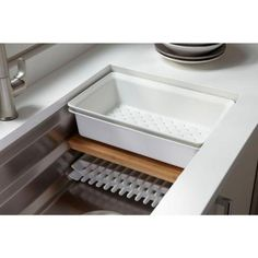 KOHLER Prolific Undermount Stainless Steel 33 in. 0-Hole Single Bowl Kitchen Sink-K-5540-NA - The Home Depot