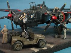 Northrop P-61A Black Widow Build Review G.W.H. (Great Wall Hobby) GWH4806 Scale: 1/48