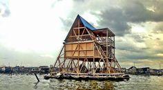 Designline Office - Praxis: Das Schulboot von Makoko
