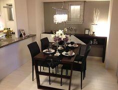 D277 優雅なライフシーンを 洗練されたモダンテイストのインテリア。お客様を招く機会も増えそう。 #リビング #ベッドルーム #子ども部屋 #キッズルーム #書斎 #和室 #ダイニングルーム #インテリア #コーディネート #家づくり #インテリアアテンダント Fashion Room, Conference Room, Dining Table, Interior, House, Rooms, Furniture, Home Decor, Style