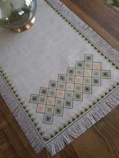 This Pin was discovered by Ayş Dmc Cross Stitch, Cross Stitch Samplers, Cross Stitch Patterns, Hardanger Embroidery, Cross Stitch Embroidery, Hand Embroidery, Smocking Patterns, Embroidery Patterns, Blackwork