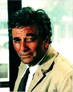 """Just one more thing"" - Columbo Columbo Peter Falk, School Tv, The Great Race, Tv Detectives, Celebs, Celebrities, American Actors, Great Books, Cigars"