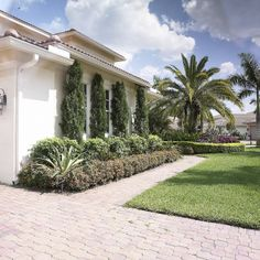 whinter beach house landscaping