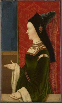 Marie de Bourgogne,c.1500 by Niklas Reiser